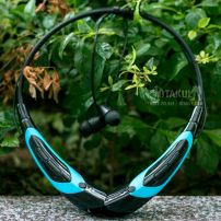 Tai Nghe Bluetooth - Đen Xanh Dương - Vocaloid