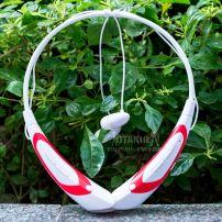 Tai Nghe Bluetooth - Trắng Đỏ - Vocaloid