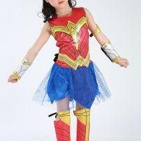 Đầm Wonder Woman Cho Bé Gái