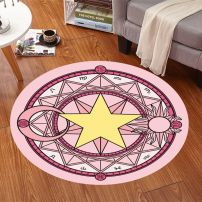 Thảm Lót Sàn Sakura Đường Kính 80cm