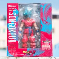 Mô Hình SHFiguarts SonGoku - Dragon Ball Z (Super Saiyan Blue God)