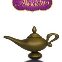 Đèn Thần Aladdin Nhựa