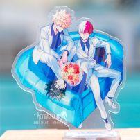 Mô Hình Standee Acrylic Katsuki Và Shoto - My Hero Academia