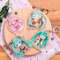 Móc Khóa Acrylic Hatsune Miku 1 - Vocaloid