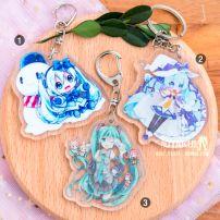 Móc Khoá Acrylic Hatsune Miku 3 - Vocaloid