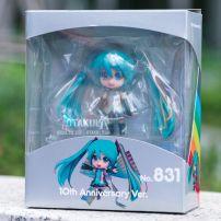 Mô Hình Nendoroid 831 Hatsune Miku - Character Vocal Series 01 (10th Anniversary Ver.)
