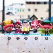 Bộ 5 Mô Hình Figure Chibi Chopper - One Piece