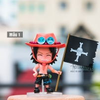 Bộ 3 Mô Hình Figure Chibi Portgas D. Ace - One Piece