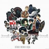 Bộ Sticker Attack On Titan